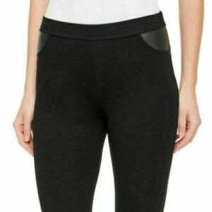 DKNY Pull on Ponte Pants/Jeggings, Charcoal, NWOT